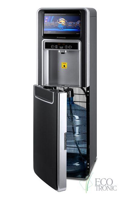 Ecotronic P5-LXAD черный с серебристой вставкой