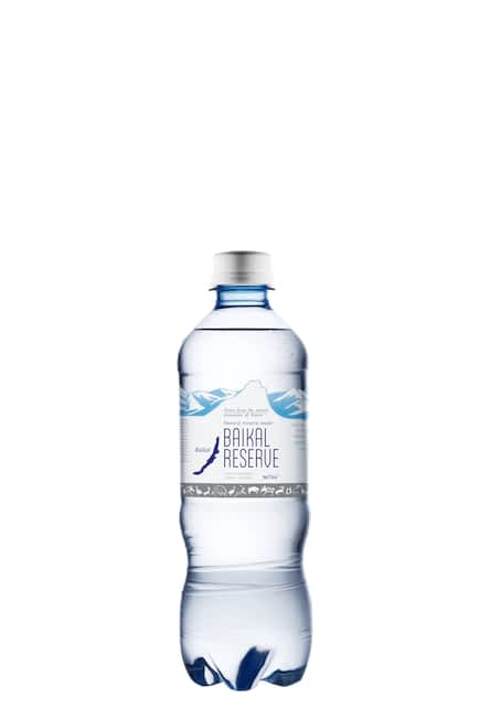 Минеральная лечебно-столовая вода BAIKAL RESERVE газ. 0,5л