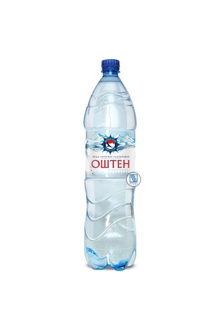 Питьевая вода «Оштен» 1,5л негаз. ПЭТ 6шт/уп.