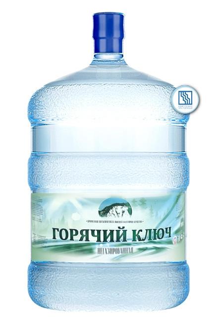 """Вода """"Горячий ключ"""" 19 л"""