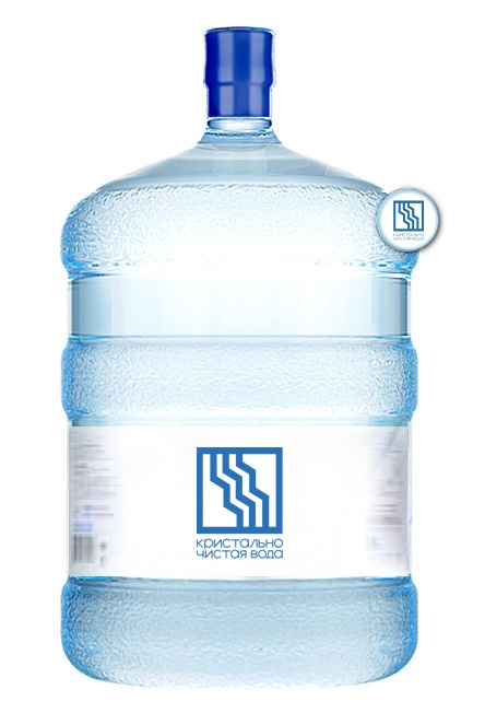 """Вода """"Кристально чистая вода"""" 19л"""
