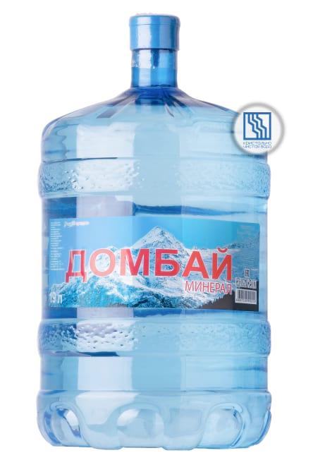 """Вода """"Домбай"""" 19 л"""