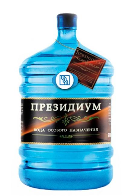 """Вода горная """"Президиум"""" 19 л."""